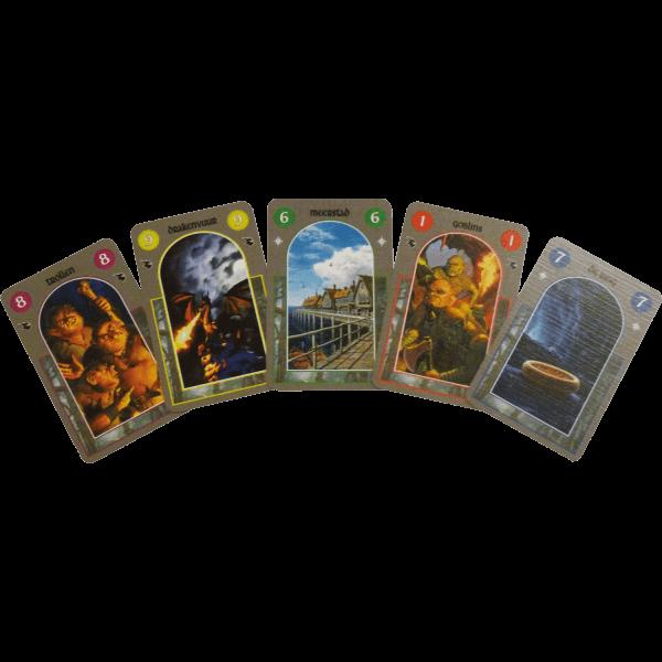 Hobbit-kaartspel-kaarten