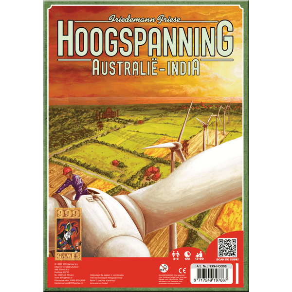 Hoogspanning-Australie-India