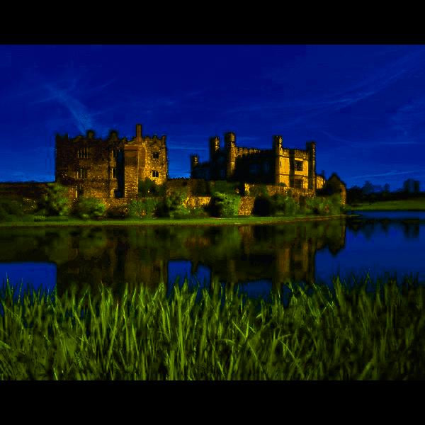 Leeds Castle, Kent, England, 1000 pcs