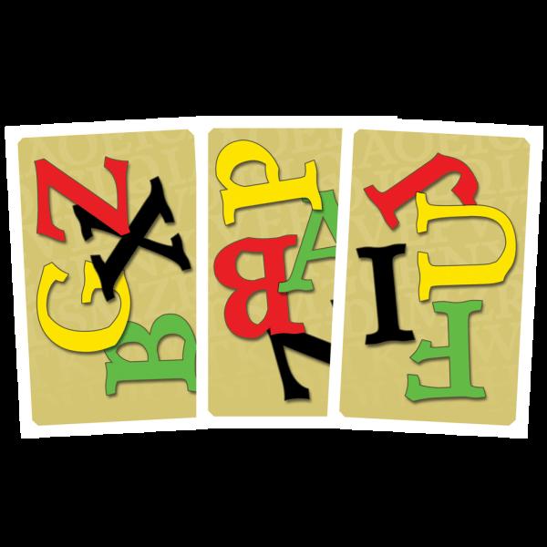 Lettermix-kaarten