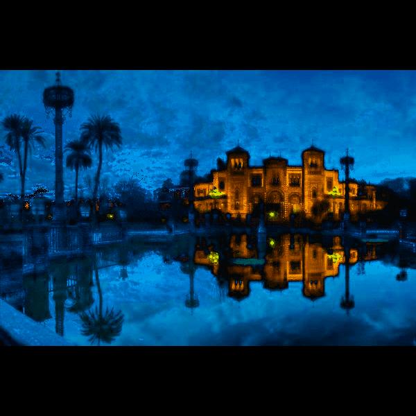 Mudejar-Pavilion, Sevilla, 1500 pcs