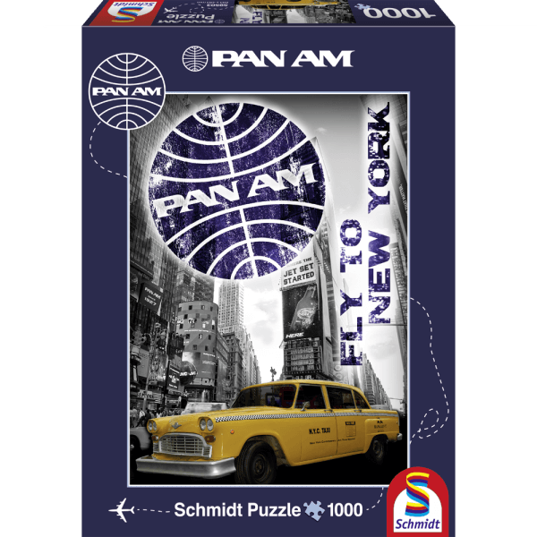 New York Taxi 1000 pcs