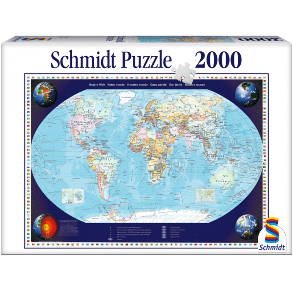 Our World 2000 pcs