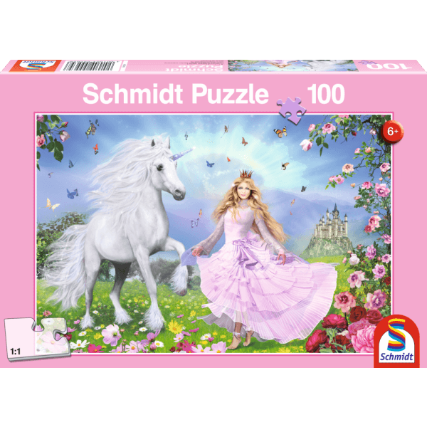 Princess of the unicorns 100 pcs