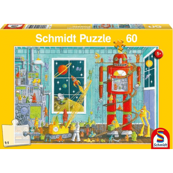 Robots, 60 pcs