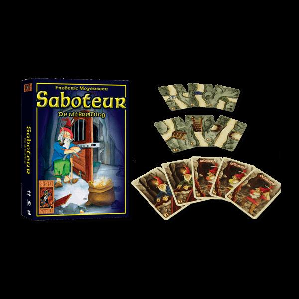 Saboteur Uitbreiding_spelproduct