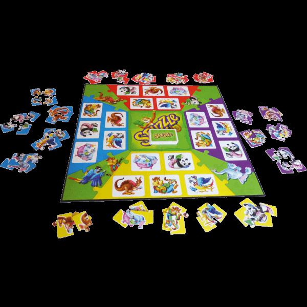 Spuzzle-spel
