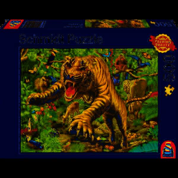 Tiger attack, 500 pcs