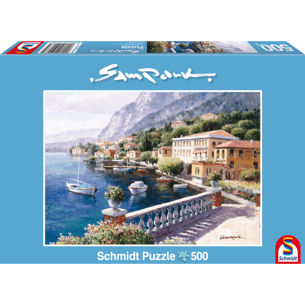 Villa on the Lake of Como 500 pcs