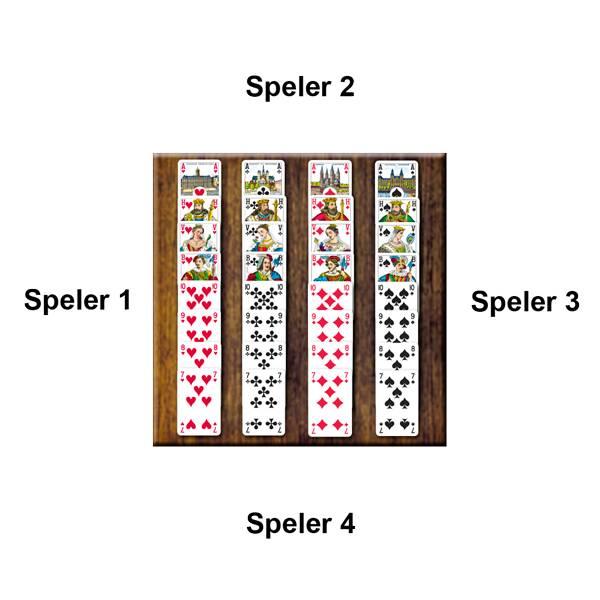 Voorbeeld Kaartspel Bieden van 999 Games