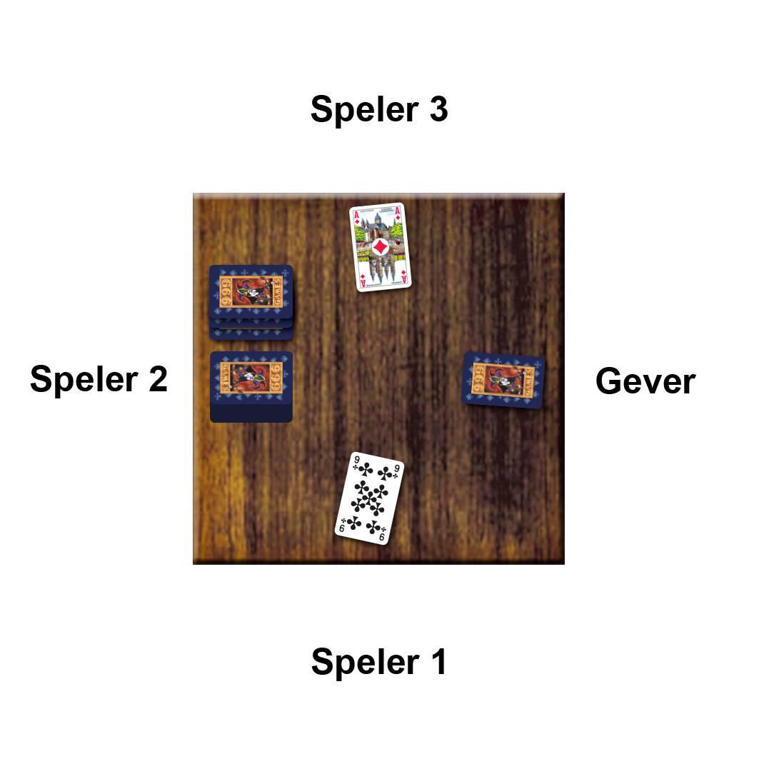 Voorbeeld Kaartspel Blackjack van 999 Games