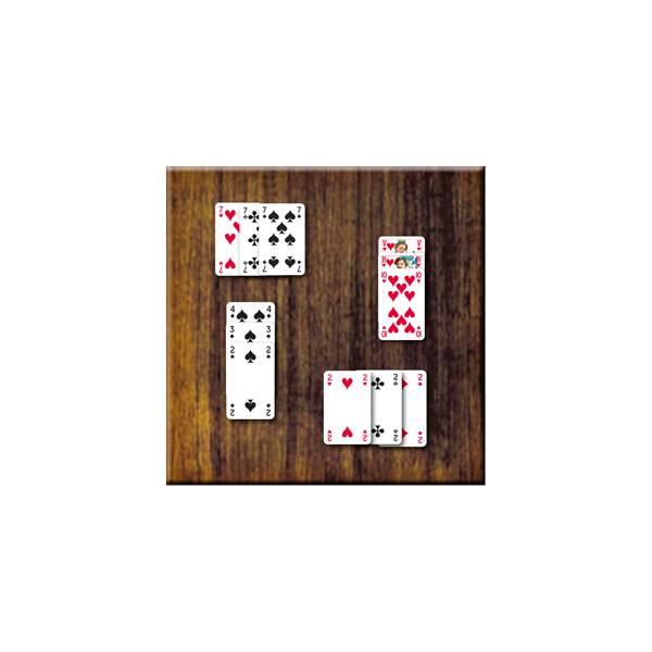 Voorbeeld Kaartspel Duizenden, Schoppenvrouwen of Zwarte Wijven van 999 Games