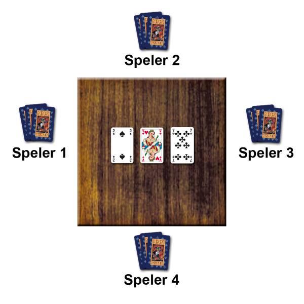 Voorbeeld Kaartspel Eenendertigen van 999 Games