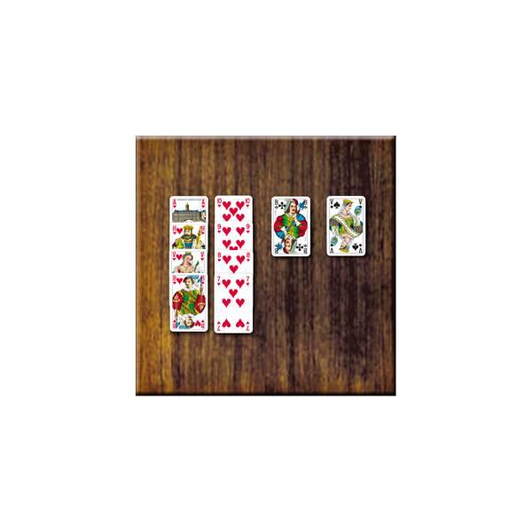 Voorbeeld Kaartspel Hartenjagen van 999 Games