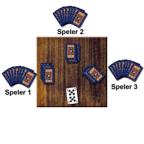 Voorbeeld Kaartspel Ninety-Nine Negenenegentigen 99 van 999 Games