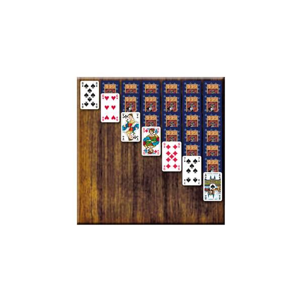 Voorbeeld Kaartspel Patience van 999 Games