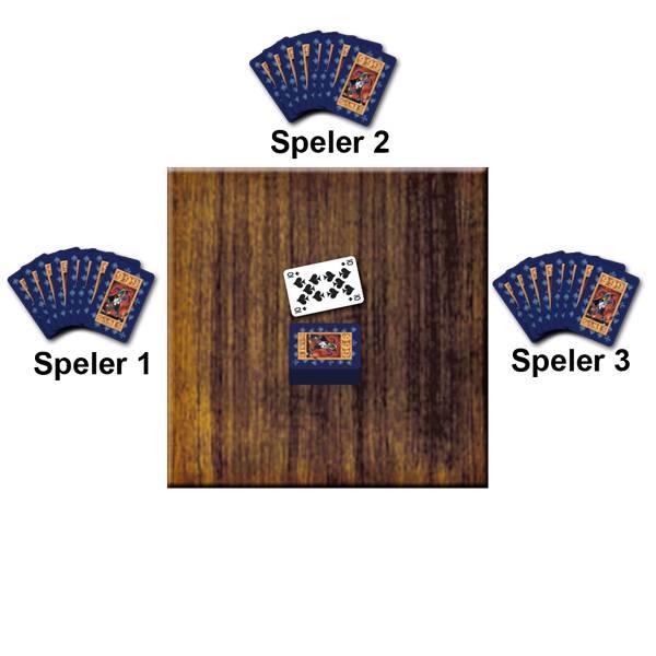 Voorbeeld Kaartspel Pesten van 999 Games