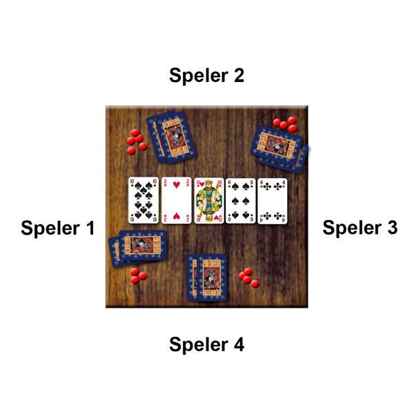 Voorbeeld Kaartspel Poker, Texas Hold'm van 999 Games