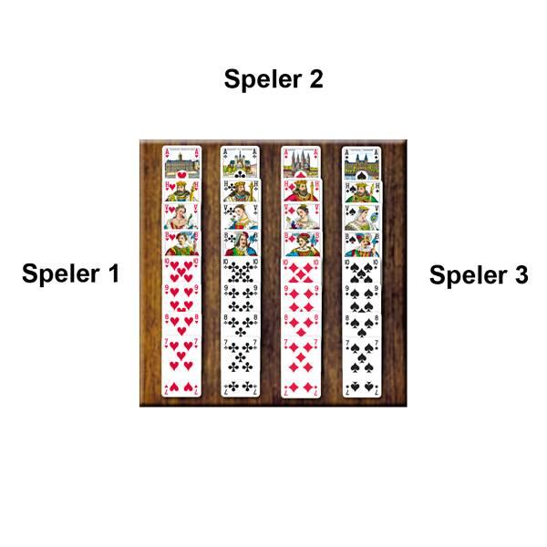 Voorbeeld Kaartspel Toepen van 999 Games